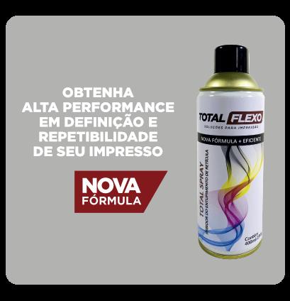 TOTAL SPRAY Inibidor de Entupimento de Retícula - TotalFlexo - Soluções Para Impressão