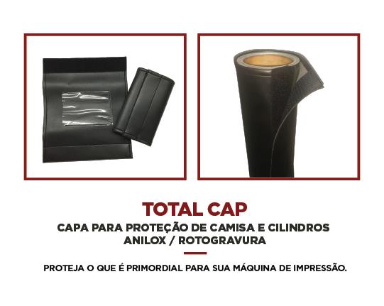CAPAPARA PROTEÇÃO DE CAMISA ECILINDROS ANILOX / ROTOGRAVURA  - TotalFlexo - Soluções Para Impressão