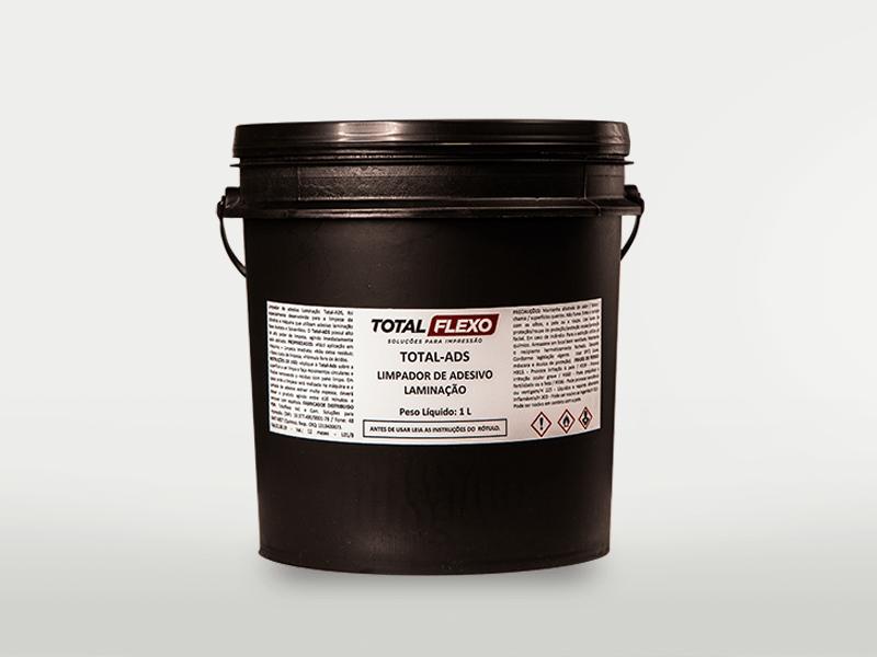 Total Ads - Limpador de adesivo laminação (gel) - TotalFlexo - Soluções Para Impressão