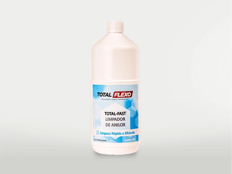 Total Fast - Limpador de Anilox (Líquido) - TotalFlexo - Soluções Para Impressão