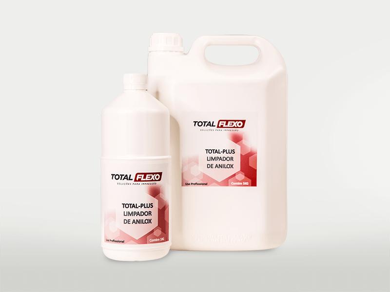 Total Plus - Limpador de anilox (viscoso) - TotalFlexo - Soluções Para Impressão